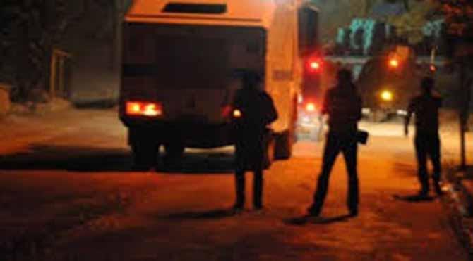 Nusaybin'de elektrikler kesildi, silah sesleri başladı