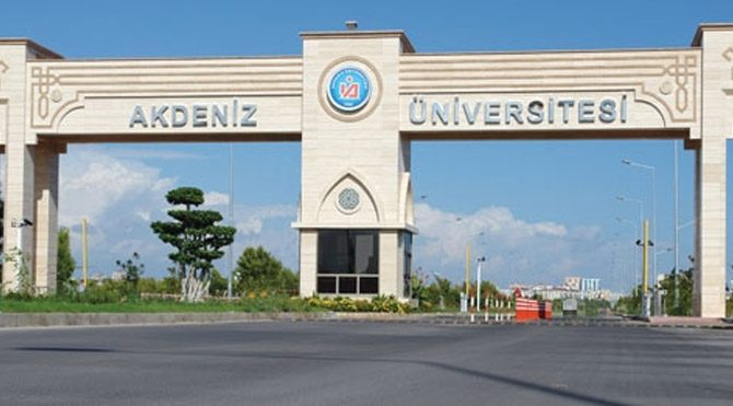 Akdeniz Üniversitesi'nde 'rektörün kaseti' operasyonu!