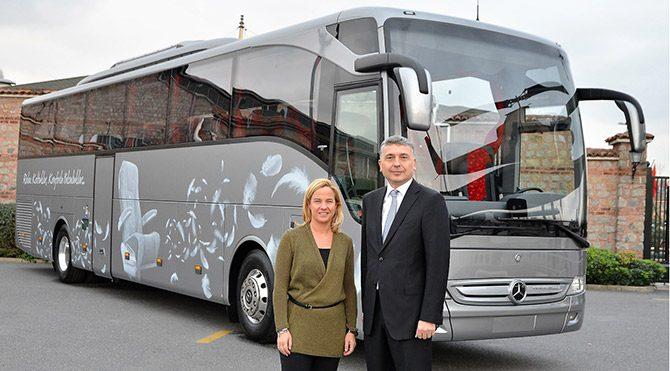Mercedes-Benz Türk konfor çıtasını yükseltiyor