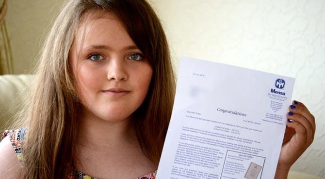 13 yaşında 162 IQ ile Einstein'ı geçen kız