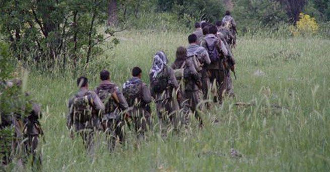 PKK'lılar güvenlik güçlerine teslim oldu