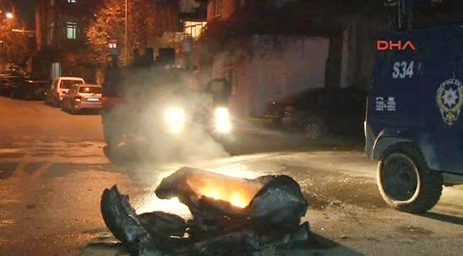 Ataşehir'de olaylı gece!