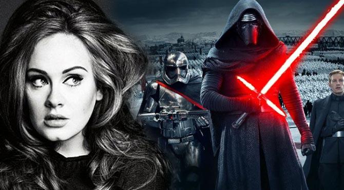 Star Wars'a Adele dokunuşu