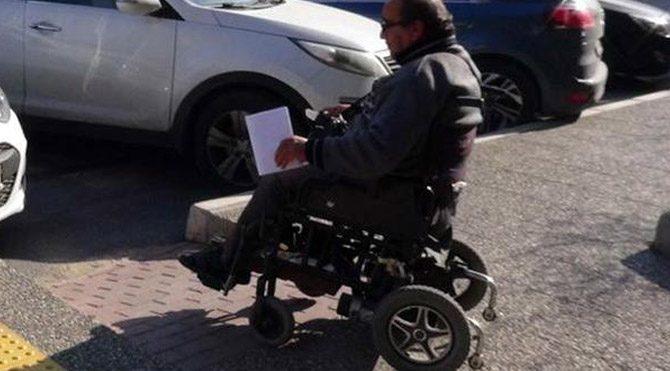 Engelli vatandaşa adliye engeli!
