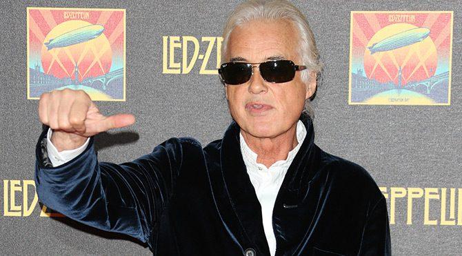Jimmy Page sahnelere geri dönüyor