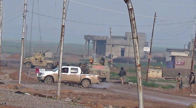 Türk askerlerinin bulunduğu bölgede çatışma