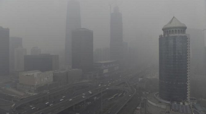 Çin, teneke kutuda temiz hava satın alıyor!