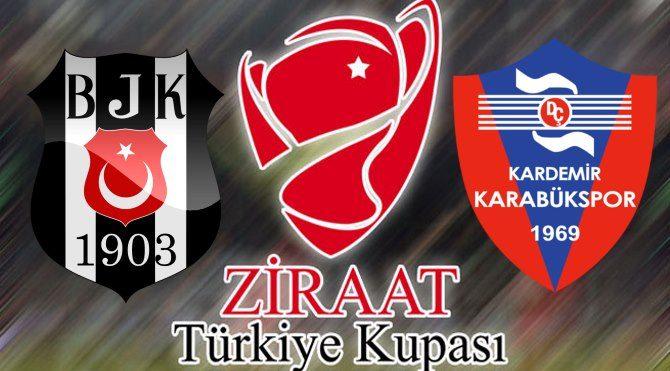 Beşiktaş Karabük kupa maçı ne zaman, saat kaçta, hangi kanalda?