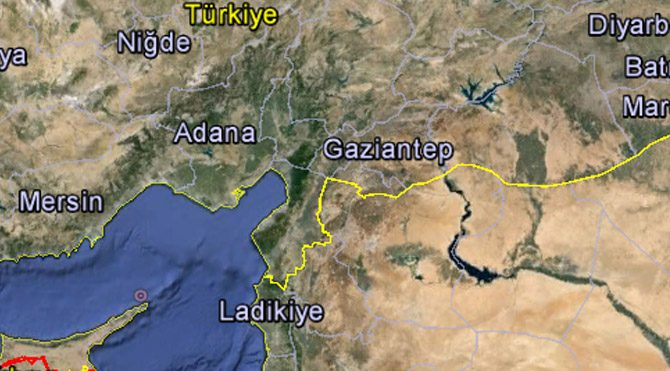 Suriye'den Türkiye tarafına ateş açıldı