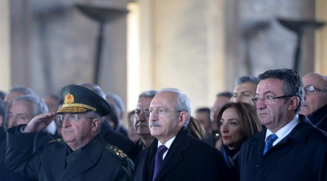 2`nci Cumhurbaşkanı İnönü vefatının 42`nci yıl dönümünde anıldı