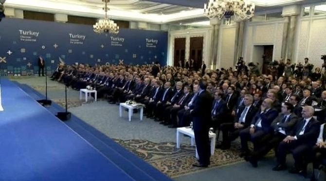 Davutoğlu, `Türkiye Markası` tanıtım töreninde konuştu (1)