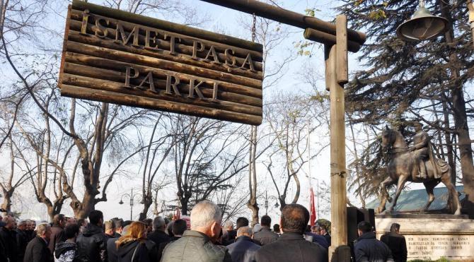 İsmet İnönü, Zonguldak`ta anıldı