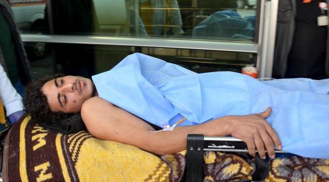 Suriyeli çoban bacağından vuruldu