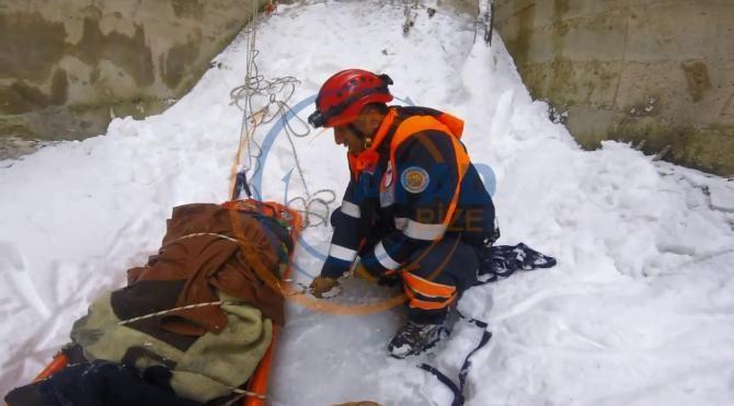 HES inşaatında yüksekten düşen mühendis öldü