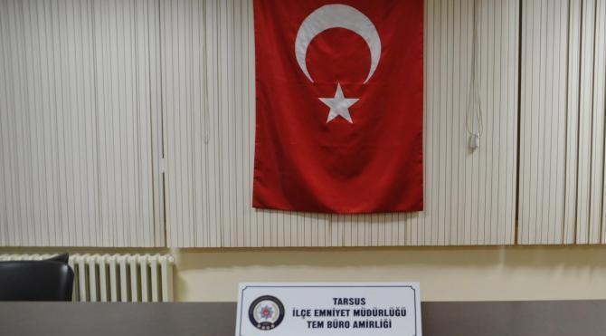 Tarsus`ta toprağa gömülü silah ve mermiler ele geçirildi
