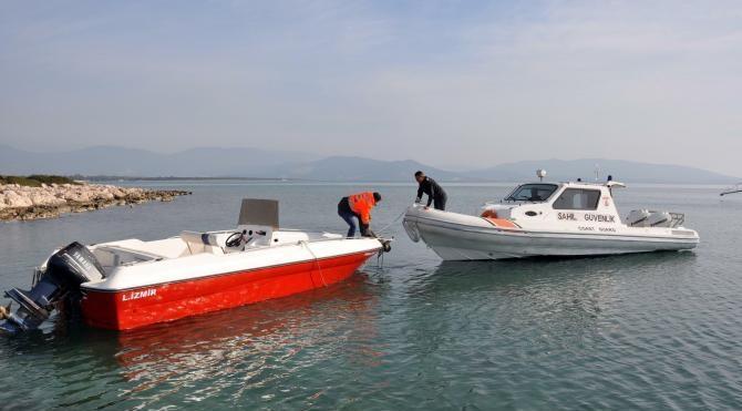 Didim`de insan kaçakçılığı için kullanılacak tekne ele geçti