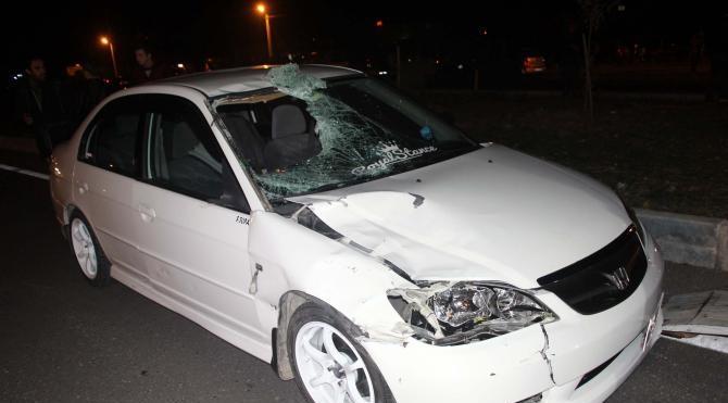Yaya geçidinde otomobilin çarptığı kadın öldü