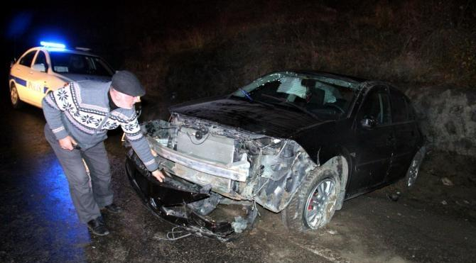 Zonguldak`ta kaza: 2 yaralı