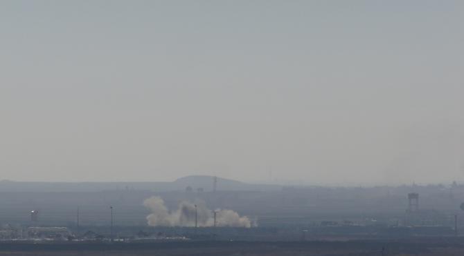 IŞİD ile muhalifler arasında şiddetli çatışma