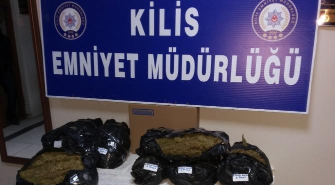 Kilis´te uyuşturucu operasyonuna 3 tutuklama