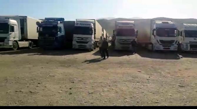 Habur`un kapanması nedeniyle Türk şoförler 23 gündür Kuzey Irak`ta bekliyor