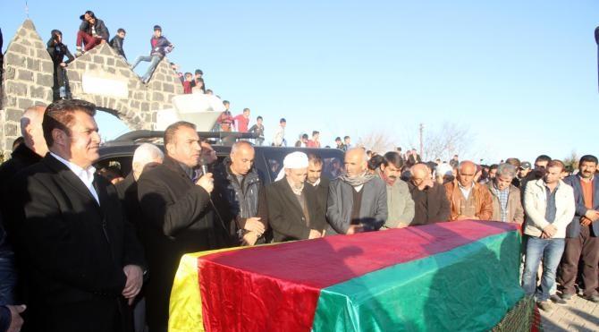 Dargeçit`te öldürülen PKK`lı İdil`de defnedildi