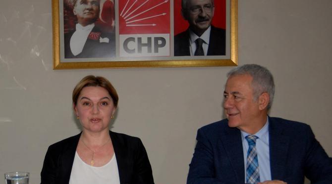 CHP`li Selin Sayek Böke, Diyarbakır gezisini, İzmir`de anlattı