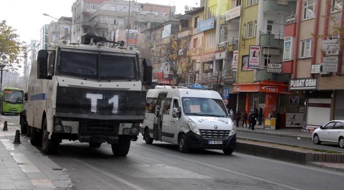 Diyarbakır`da bugün kepenkler açılmadı