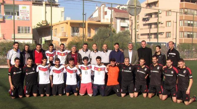 Savaştan kaçan Suriyeliler milli takıma İskenderun`da futbol turnuvası ile hazırlanıyor