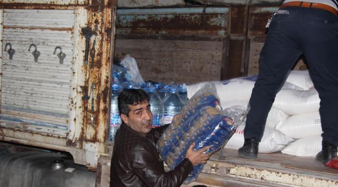 CHP`den Silvan`a gıda yardımı