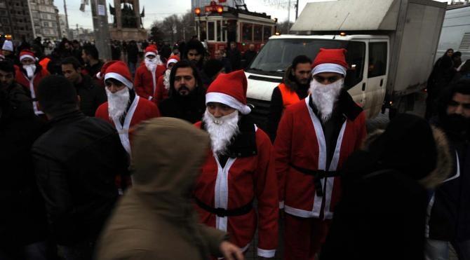 Fotoğraflar İstanbul`da yılbaşında 15 bin polis görev alacak