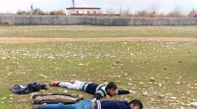 Şırnak`ta 5 mayın 3 kaleşnikof ve 1 bixi tüfek ele geçirildi