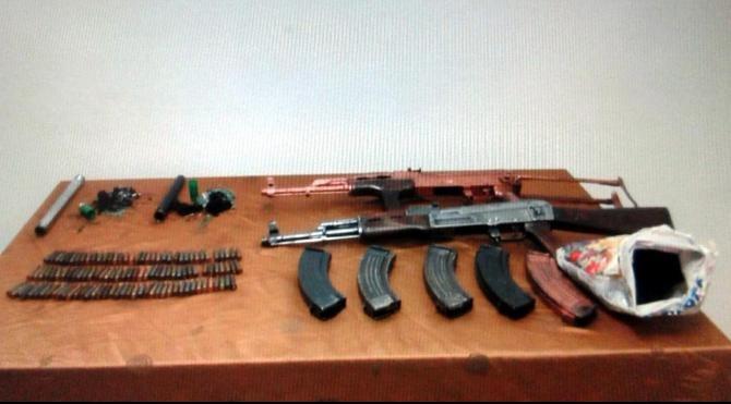 Van`da silah ve bomba bulundu