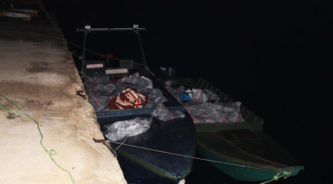 Yunanistan`dan getirilen 3.6 ton kaçak et ele geçirildi