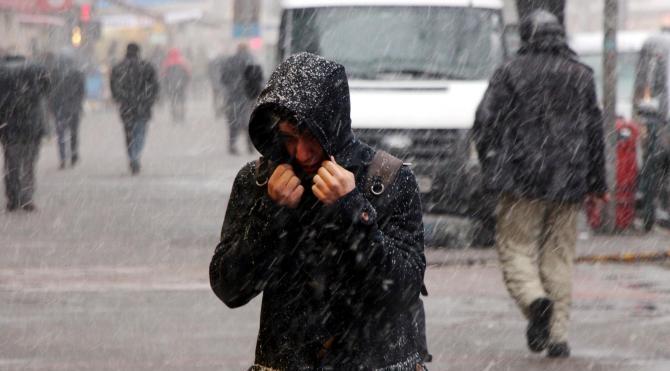 Zonguldak`ta kar