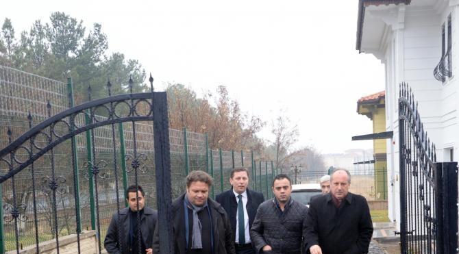CHP`li İnce Diyarbakır`da Türkan Elçi`yi ve Baro`yu ziyaret etti