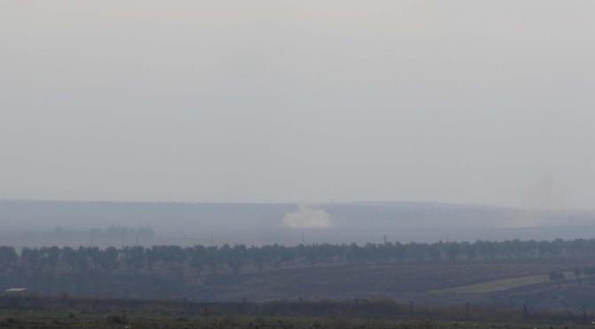Kilis sınırında IŞİD ile muhaliflerin çatışması sürüyor