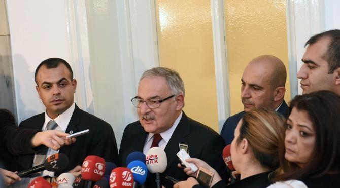 TBMM`deki Davutoğlu-Kılıçdaroğlu görüşmesi başladı (3)