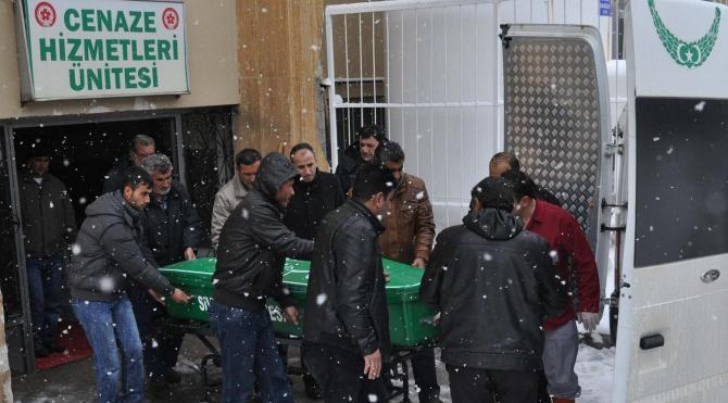 Göçükte ölen işçilerin cenazeleri memleketlerine gönderildi