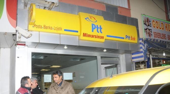 Gaziantep`te PTT şubesinde silahlı soygun