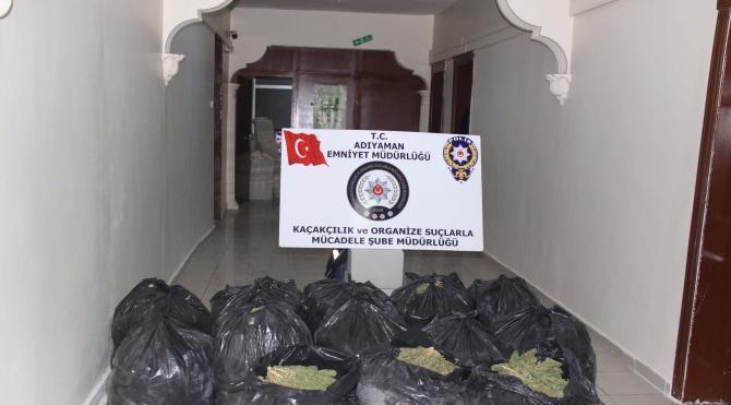 Adıyaman´da silah ve uyuşturucu operasyonunda 7 tutuklama
