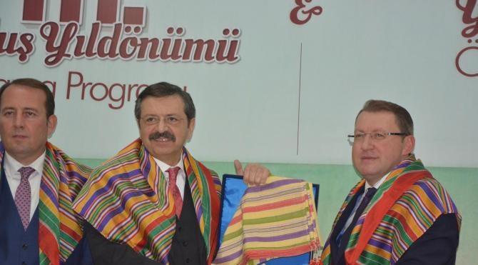 Hisarcıklıoğlu `Bilecik Ekonomisinin Yıldızları` törenine katıldı