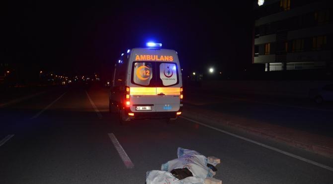 Otomobilin çarptığı Senegalli üniversite öğrencisi hayatını kaybetti