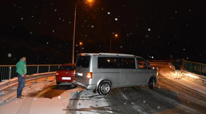 Uludağ´a bir gecede 30 santim kar yağdı