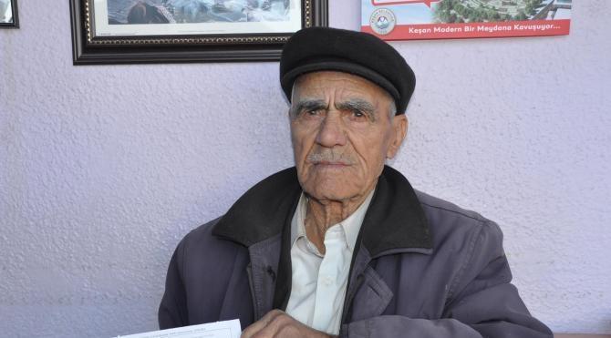 Üzerine araç kaydı olmayan yaşlı adama HGS cezası kesildi
