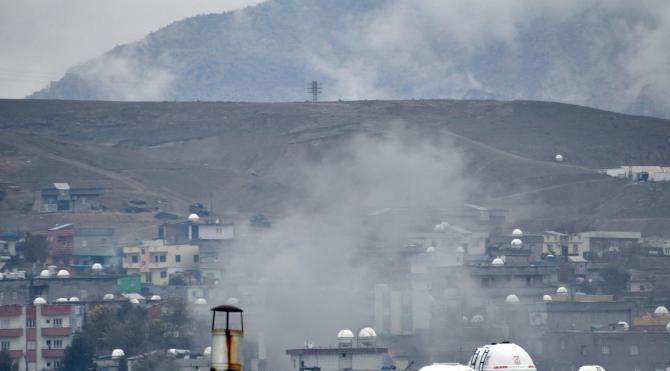 Cizre`de PKK`ya operasyonlar sürüyor