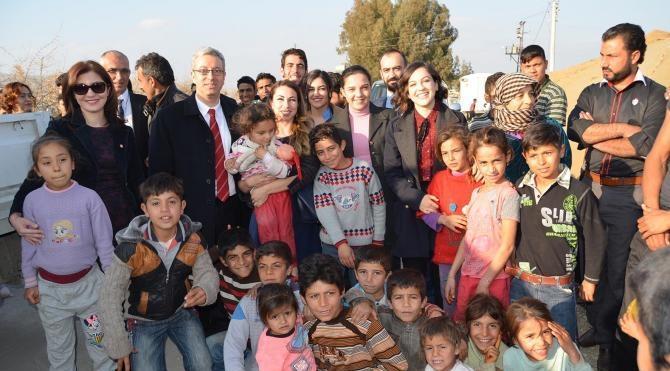 Mersin avukatlarından Suriyeli sığınmacılara şefkat eli