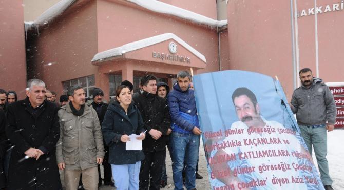Cizre`de sağlık çalışanının öldürülmesine Hakkari`den tepki