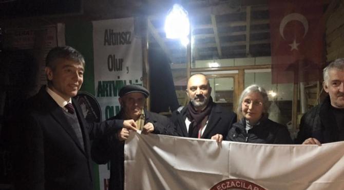 Türk Eczacıları Birliği: Artvin Cerrattepe`de doğa ve kent katliamına ses çıkar