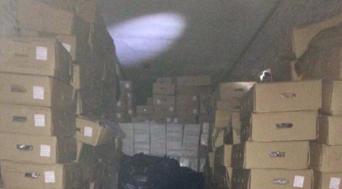 Şanlıurfa´da 183 bin paket kaçak sigara ele geçirildi